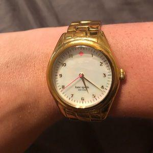 Kate Spade Gold Watch 1YRU0027